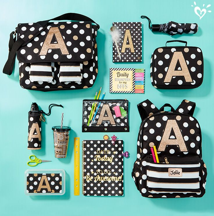 d749c51da9 Spotted  school supplies that shimmer with cool glittery detail and awesome  back-to-school style.