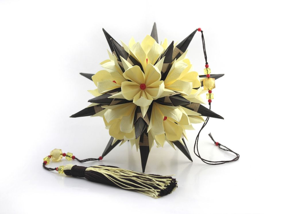 coloured ring flower eucharis variation color ring origami and flower. Black Bedroom Furniture Sets. Home Design Ideas