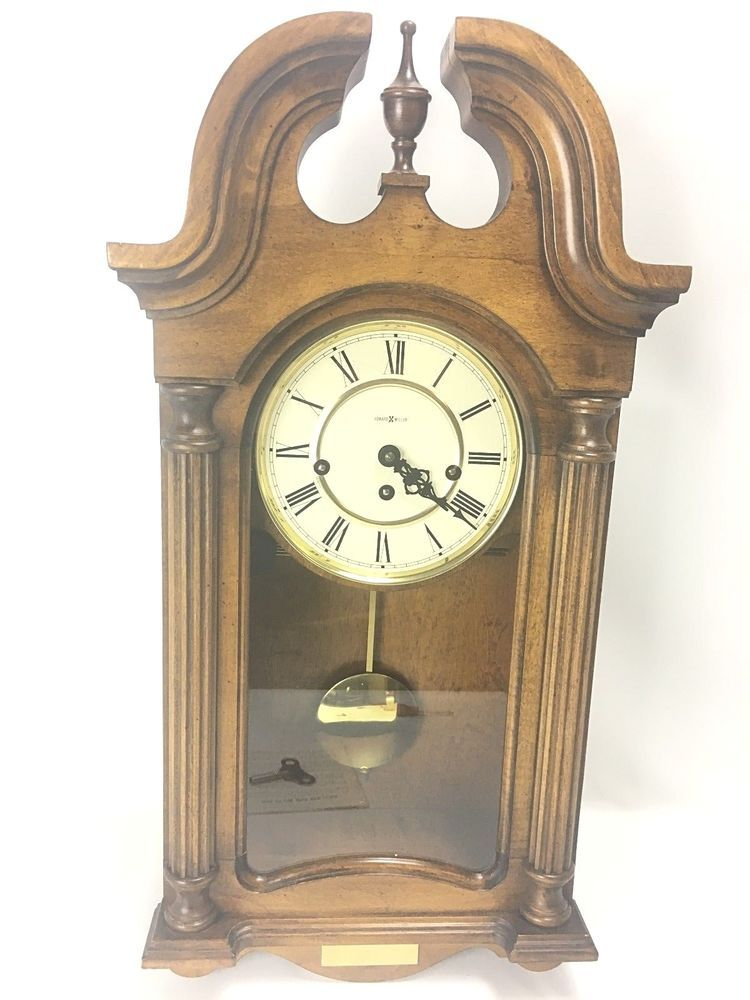 Howard Miller Westminster Chime German Movement Wall Clock Model 613