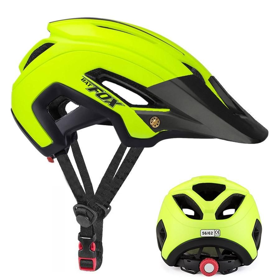 Adult MTB Protective Safety Helmet with Saddle for Mountain Bike Bicycle Cycling