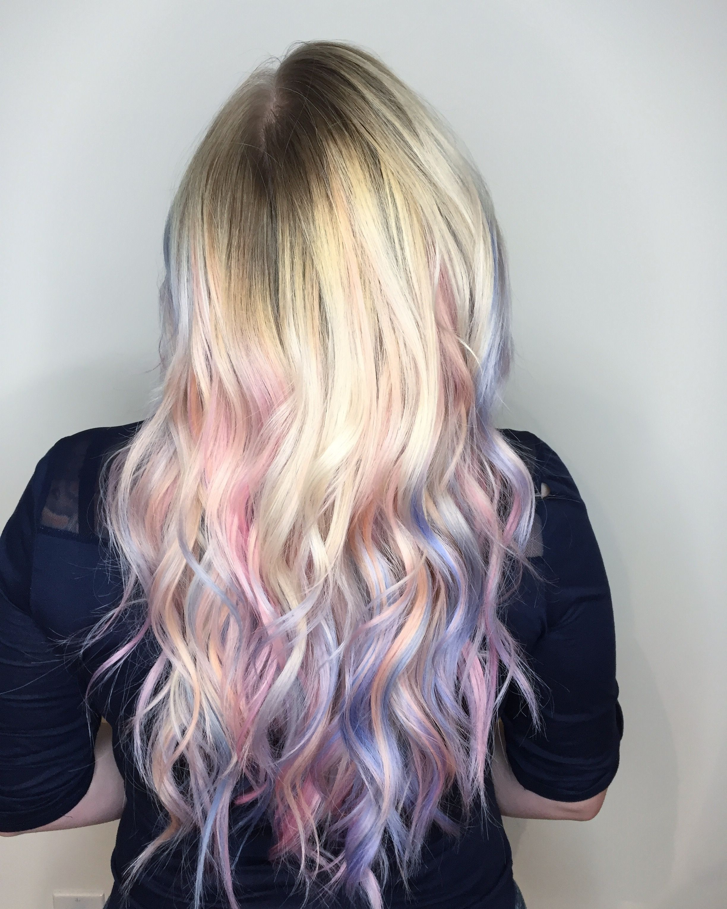 Pastel Unicorn Hair Hair Colours Pinterest