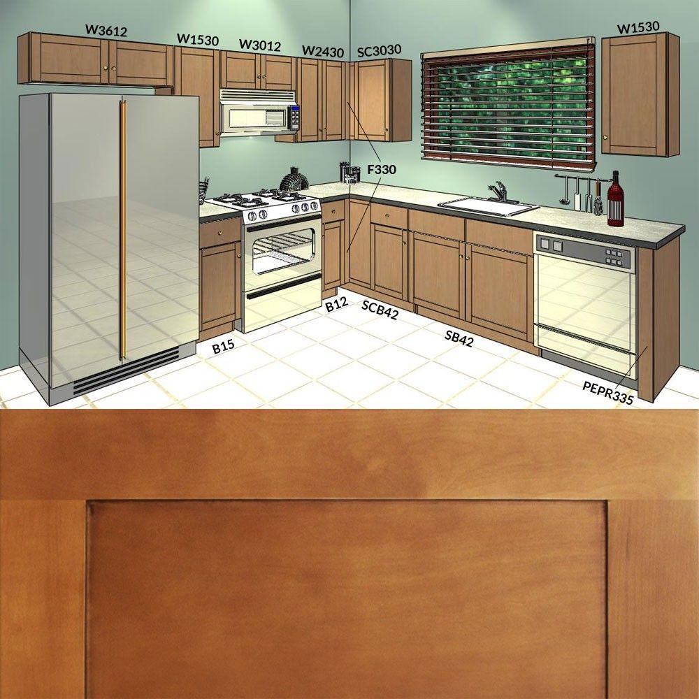 Image Result For 10 X 10 Kitchen Design