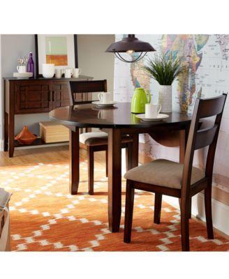 Branton Round 3 Piece Set Table 2 Chairs Dining Room