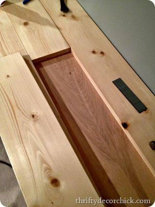 DIY butcher block counter for the top of your island