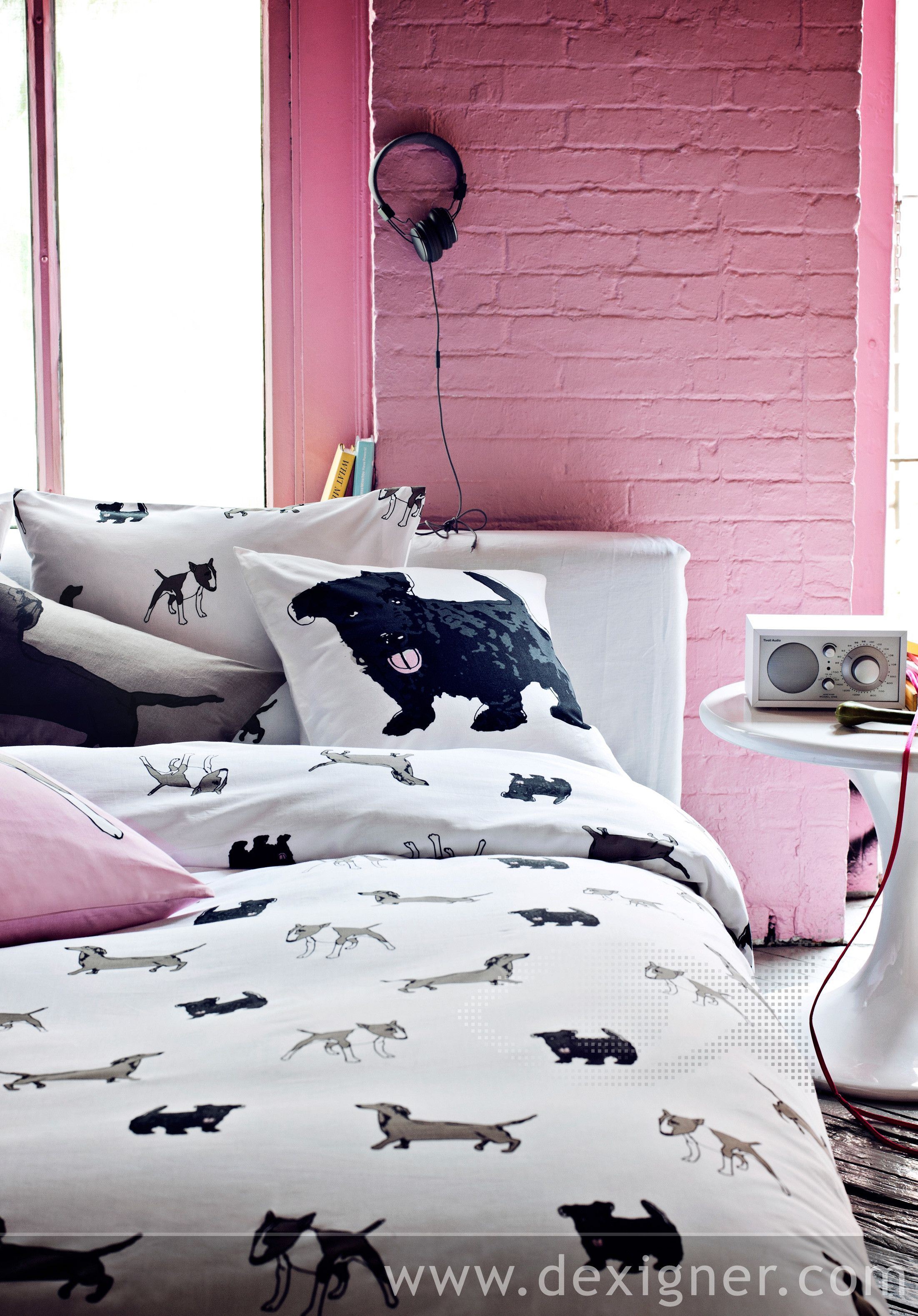 Exciting Contrasts Set The Tone For Autumn With H M Home Dog Bedroom Decor Puppy Bedroom Puppy Bedroom Ideas