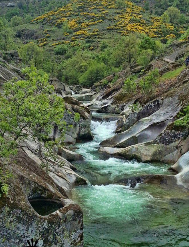One of the best natural pools of the world los pilones garganta de los infiernos c ceres - Piscinas naturales badajoz ...