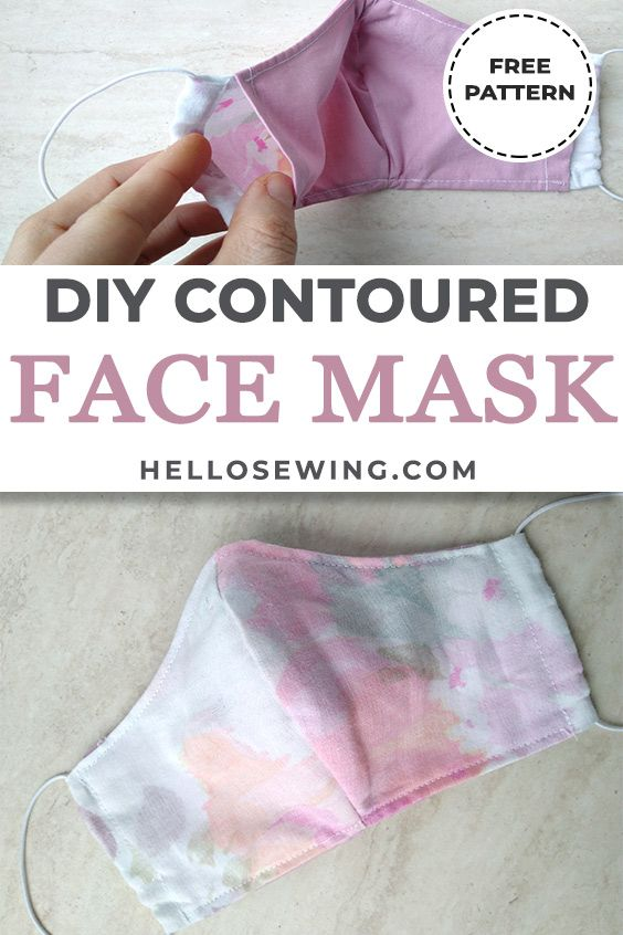 Photo of DIY Fitted Facemask – Free Pattern and Tutorial