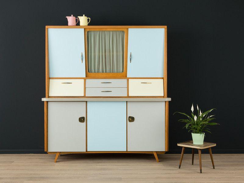 Küchenschrank Vintage ~ Exklusiver sekretär teak 60er sideboard vintage von mid century