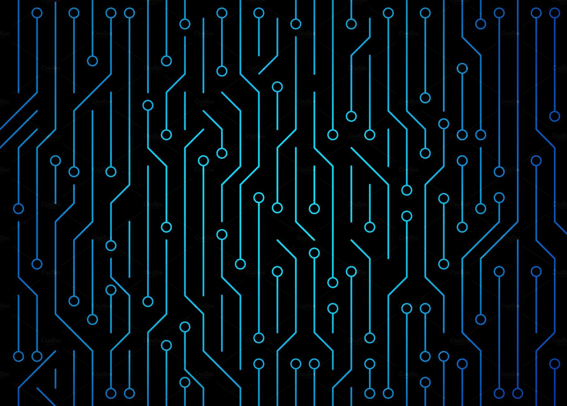 Circuit Board High Tech Technology Background Texture Pattern Abstract Illustration Technology Background Textured Background Futuristic Technology