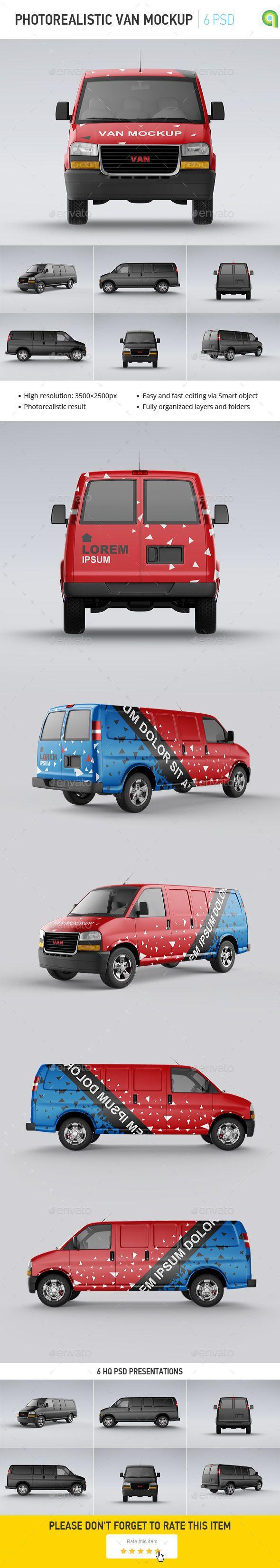 Van Mockup Mockup Print Mockup Car Wrap