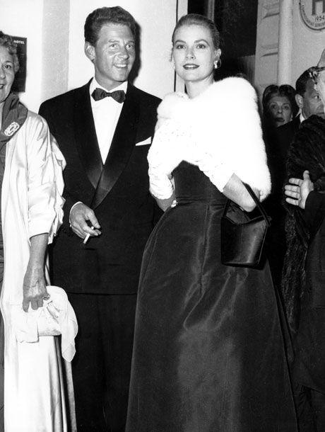 Jean-Pierre Aumont and Grace Kelly