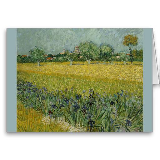 Field With Flowers Near Arles By Vincent Van Gogh Zazzle Com Artist Van Gogh Van Gogh Museum Van Gogh Art