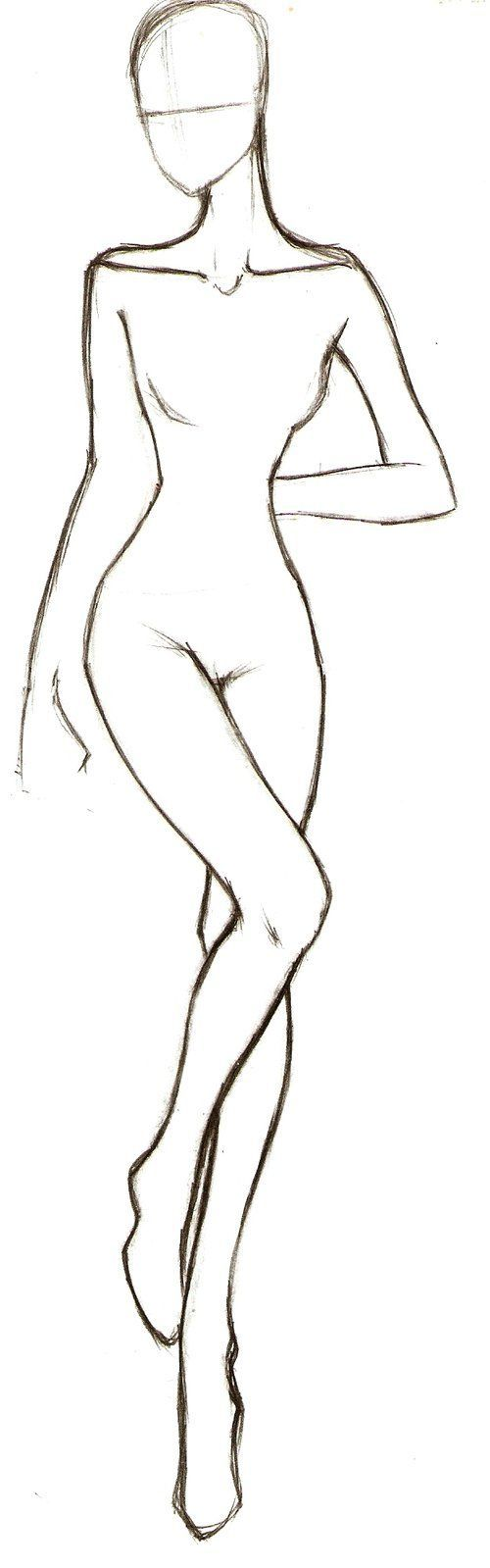 nice Scan0070 by http://www.polyvorebydana.us/fashion-sketches/scan0070/ (Top Model Body)
