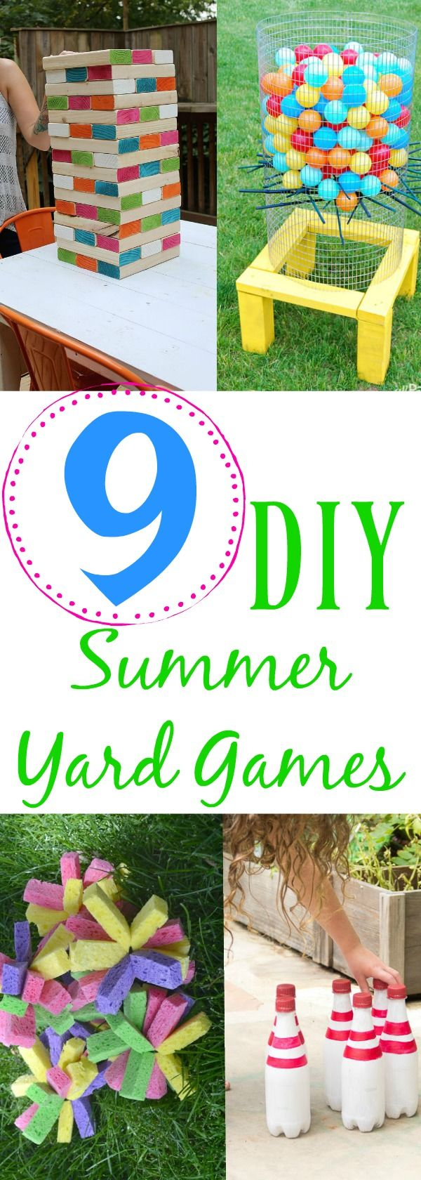 9 DIY Summer Yard Games | Building Our Story. 9 Diy Summer Yard Games, Make  Your Own Outdoor ...