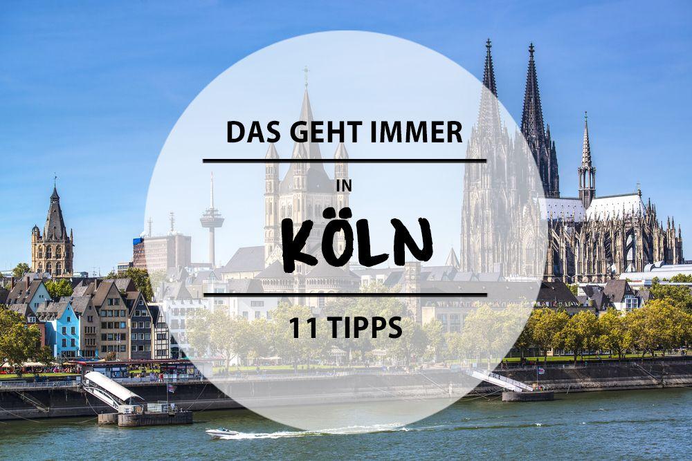 Unaufgeregter als Berlin, uriger als Hamburg und ehrlicher als München – das ist Köln. Hier gibt's 11 Dinge, die ihr hier mal machen solltet.
