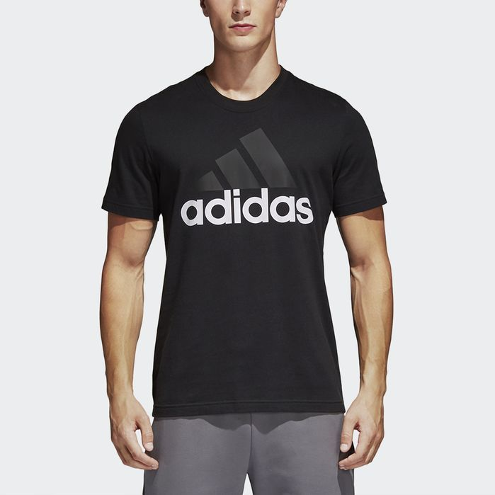 Adidas T Shirts Essentials Tee schwarz