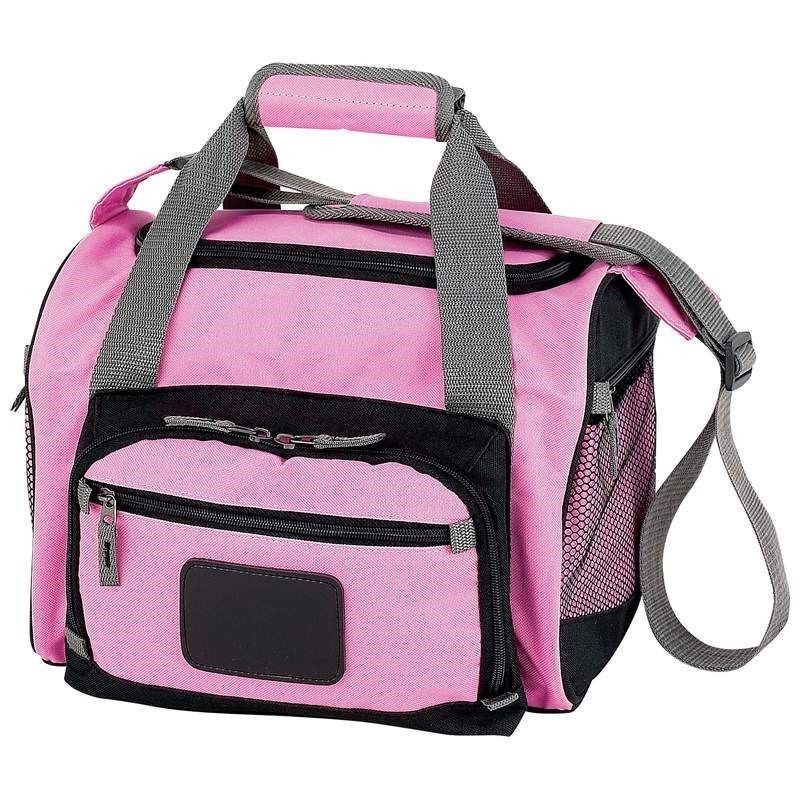 S Pink Heavy Duty Cooler Bag W Insulated Water Repellent Lunch Box Tote Extremepak