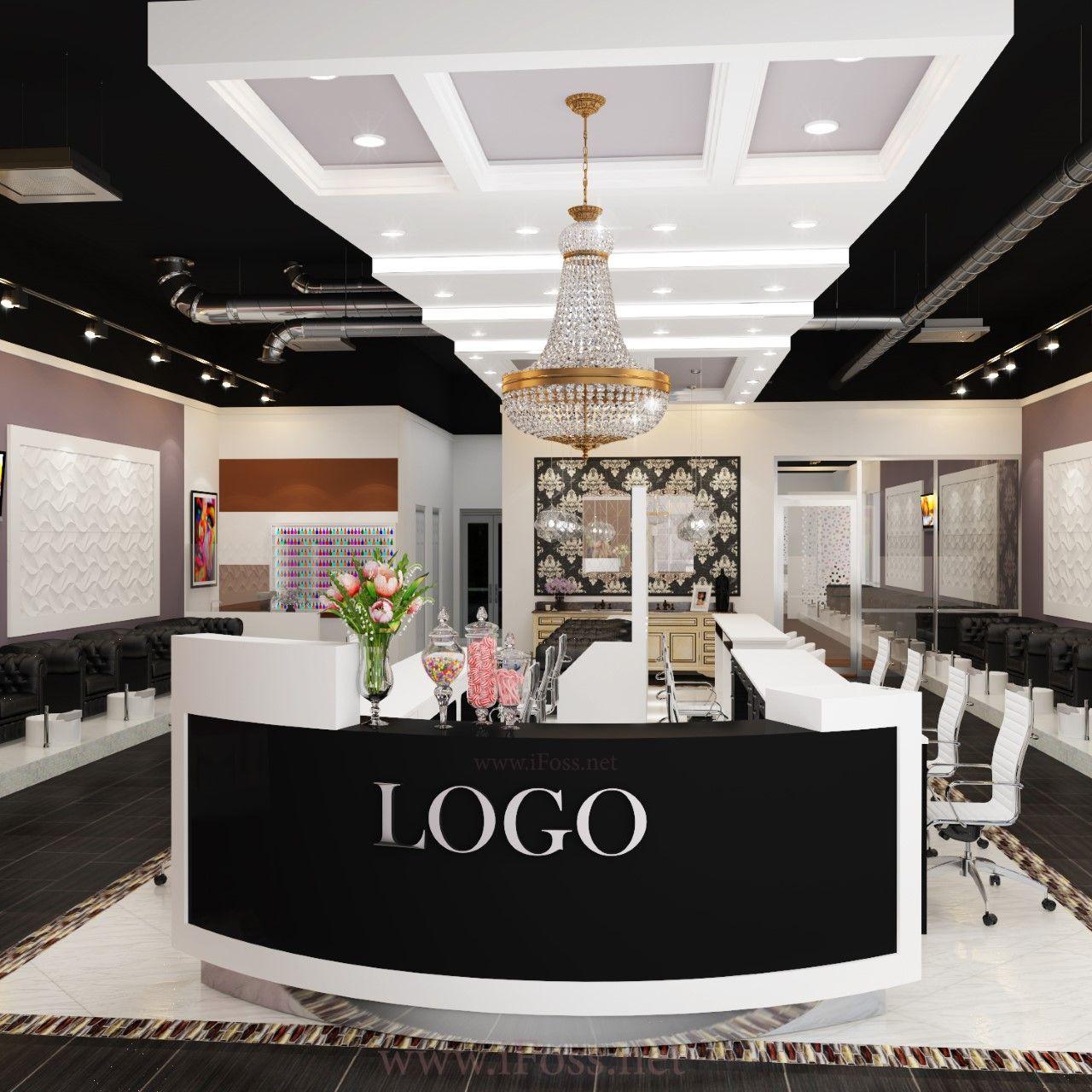 Beauty Salon Design Copyright @iFOSS Inc www.ifoss.com  #ifoss ...