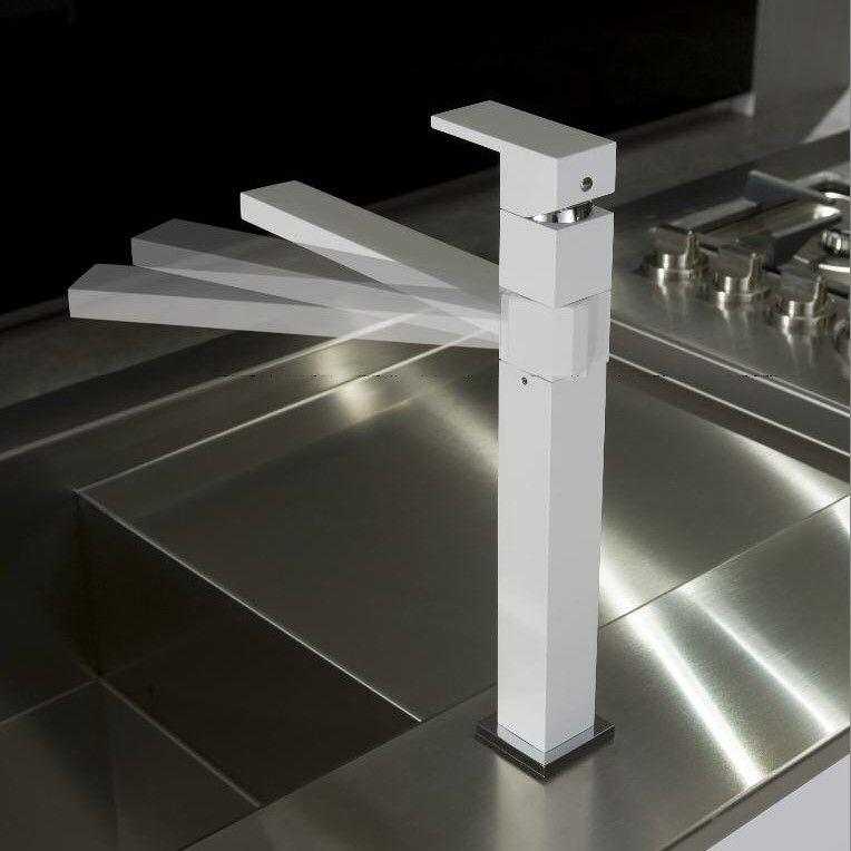 Treemme | Küchenarmatur | Serie Q | weiß matt | Küchenarmaturen ...