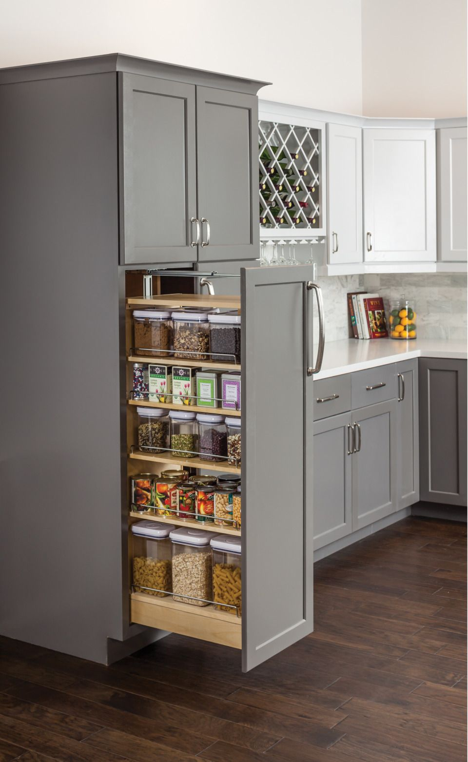 Wood Pantry Cabinet, Kitchen Design
