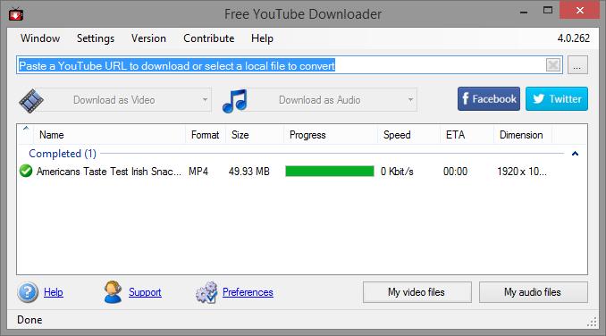 youtube video downloader program