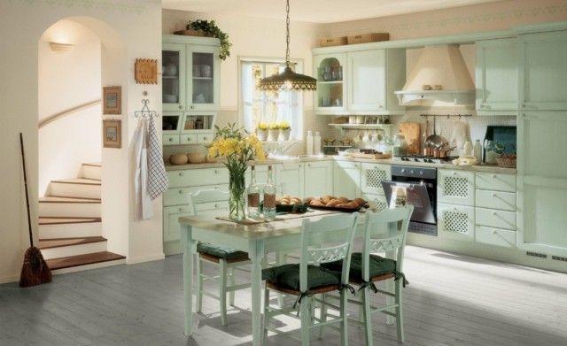 Vintage: estilo retro clásico en la cocina   Diseño de ...