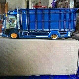 Miniatur Truck Miniatur Ide