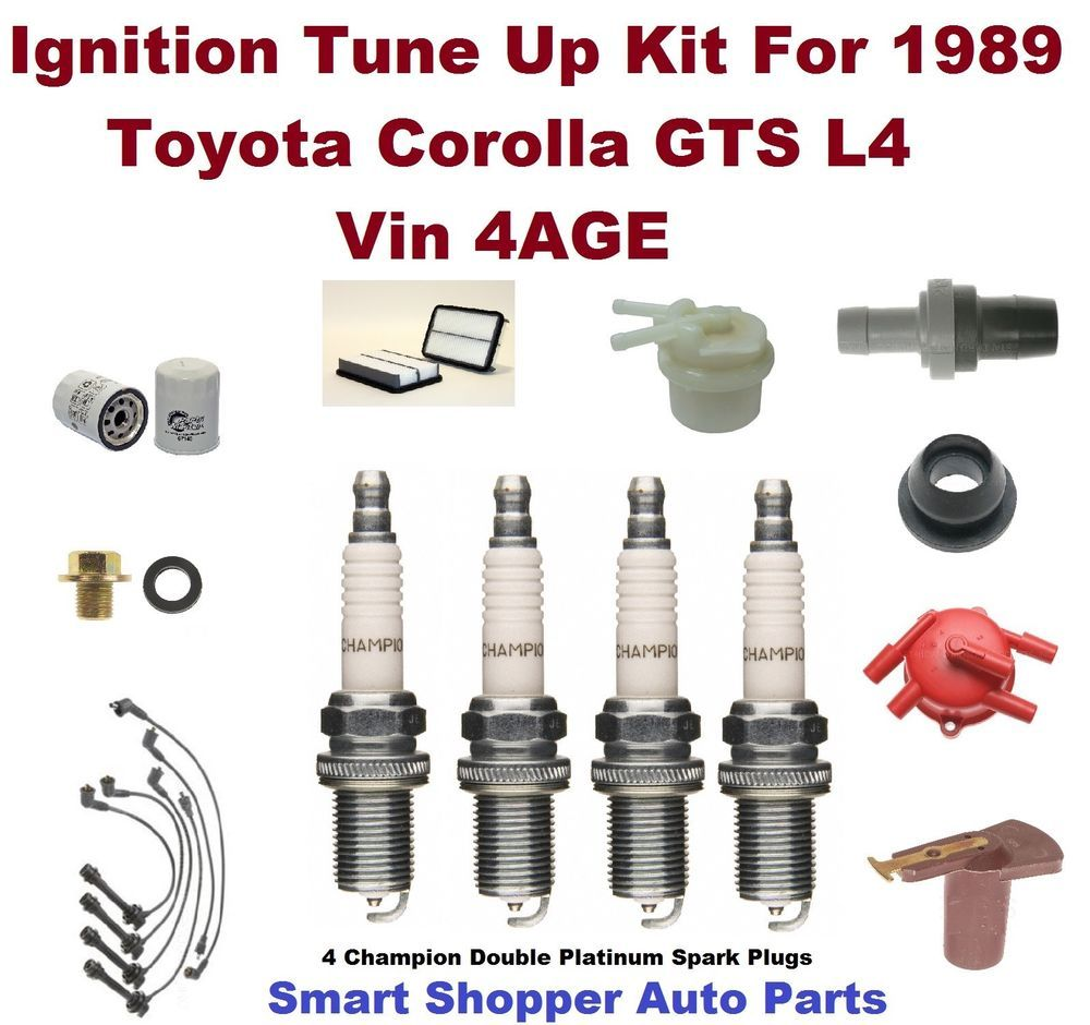 Details about For Honda Accord 2.2L L4 Tune Up Kit Filters