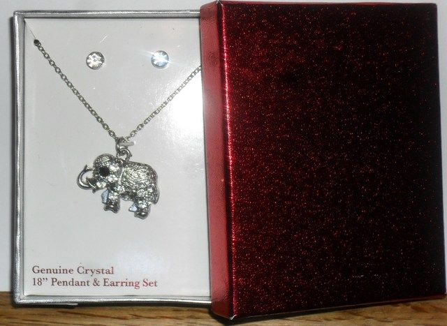 'You Choose Genuine Crystal Necklace & Earring Sets' is going up for auction at  5pm Thu, Apr 18 with a starting bid of $1.