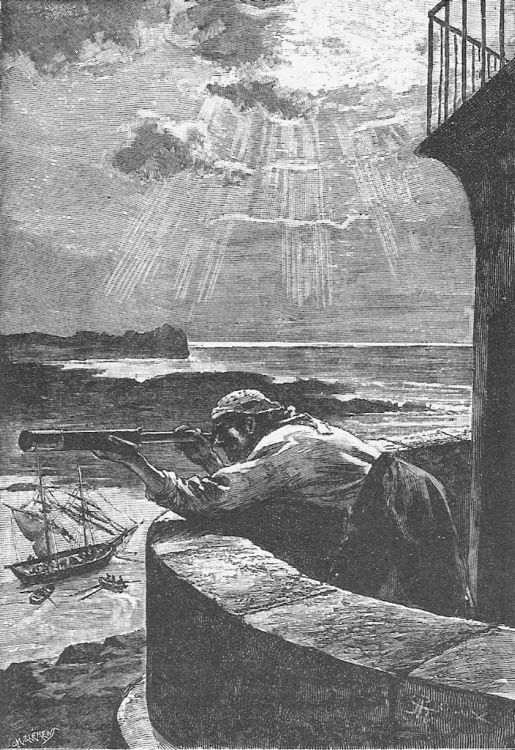 e Illustrated Jules Verne  Le Phare du bout du monde (1901)  33 illustrations by George Roux