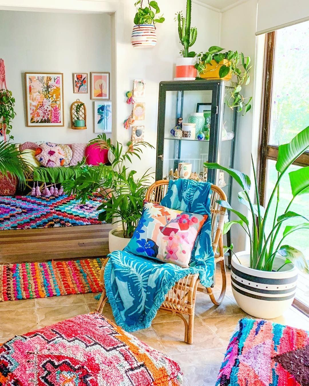 The Boho Legend On Instagram Bringing Colours And Plants In