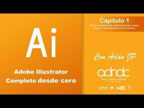 Illustrator Curso De Illustrator Cs6 Adobe Tutorials Photoshop Tutorial Illustration
