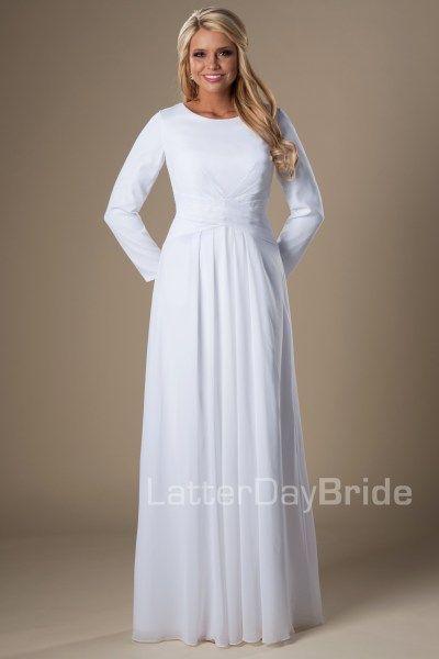 Lds Wedding Dresses San Diego : Latter days lds bride temple dress wedding special dresses