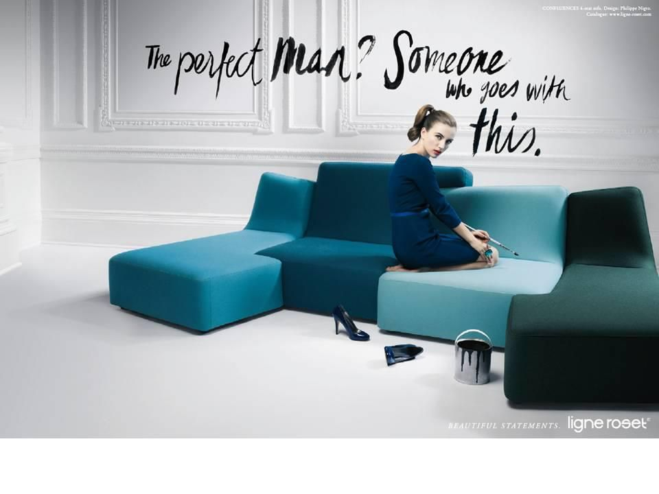 Featured: Confluences Sofa. Designed By Philippe Nigro.