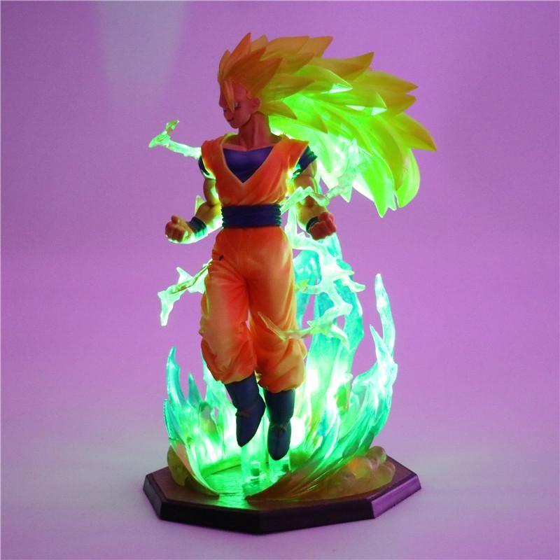 Goku Son 4 Ssj3Figurine Lampe Chevet Saga Dragon Couleurs De FJ3uT5lcK1