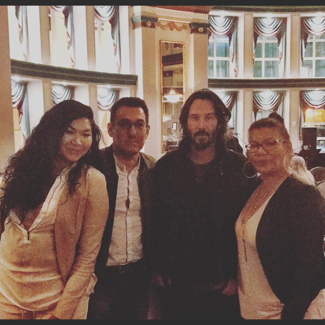"keanuital ""• fruit_of_life Bumped into Keanu Reeves at"