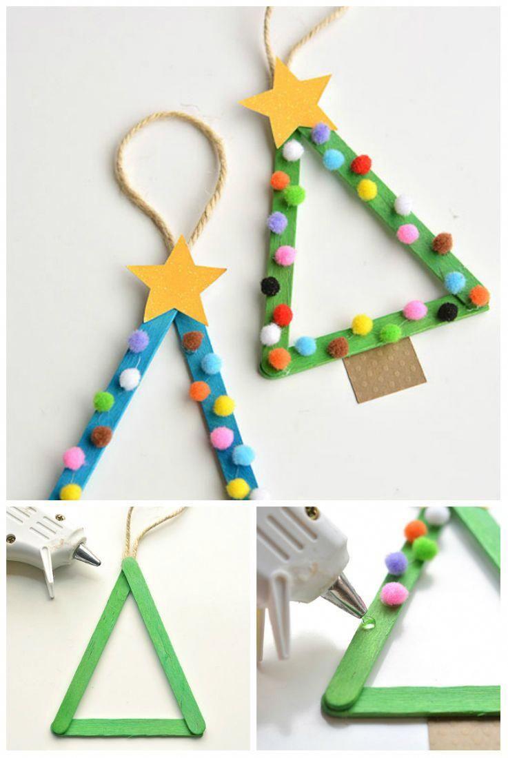 14 idées d'activités avec des bâtonnets de glace qui vont ravir vos enfants #activitémanuelleenfantnoel