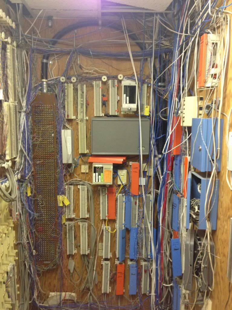 small resolution of pictures of ugly work v cabling phone system tech support bell old telephone wiring system