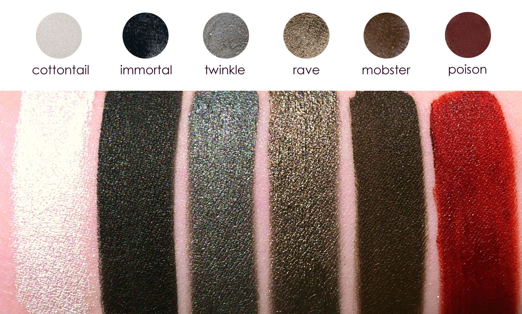 Makeup Geek Swatches Cosmetic Products