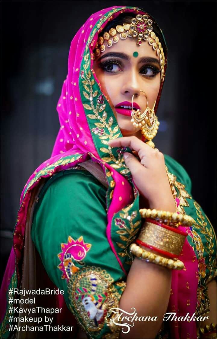 66864c3d5a Rajasthani bride | Indian Summer Bride in 2019 | Rajasthani bride ...