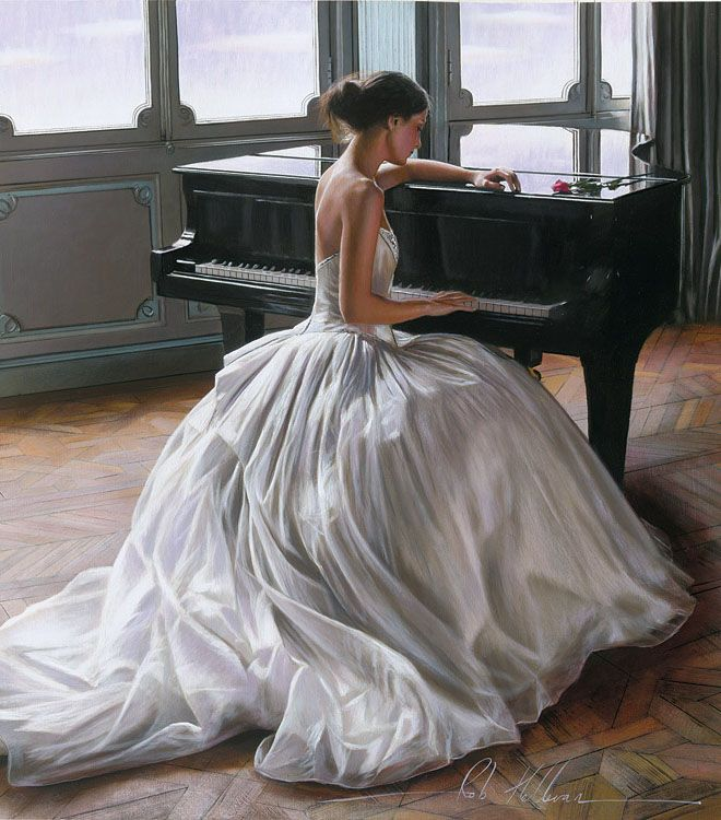Photo of 26 Hyper Realistic and Beautiful Oil Paintings by Famous Artist Rob Hefferan