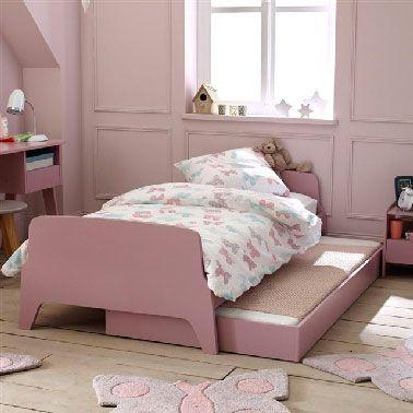La chambre de fille rose, le kitsh aux oubliettes ...