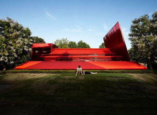 Jean Nouvel — Serpentine Gallery Pavilion 2010