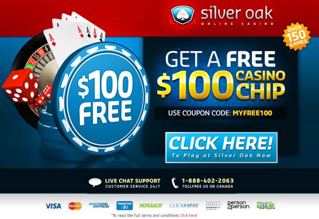 Silver oak casino bonus codes new york seneca niagara casino