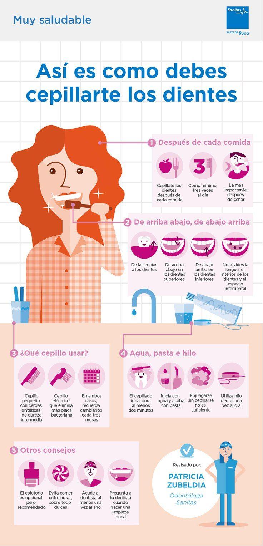 Cómo cepillarse los dientes correctamente  43e53f9df183