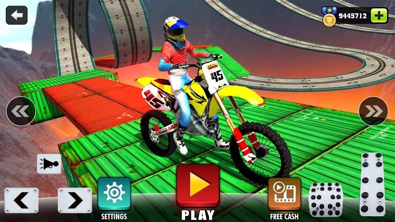 Impossible Motor Bike Tracks New Motor Bike Unlocked Android