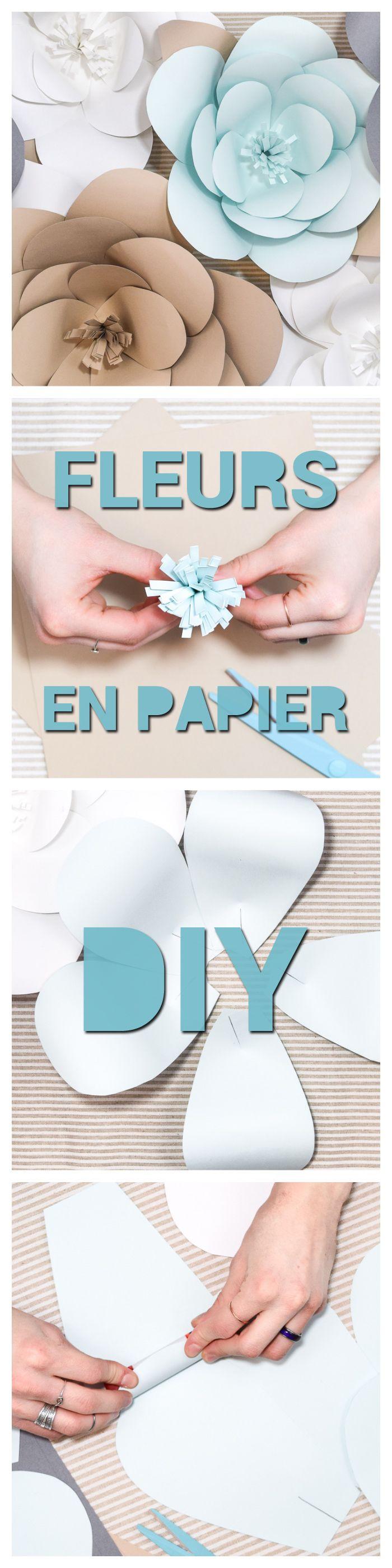 Fleurs Geantes Diy En Papier Pour Enjoliver N Importe Quel Decor