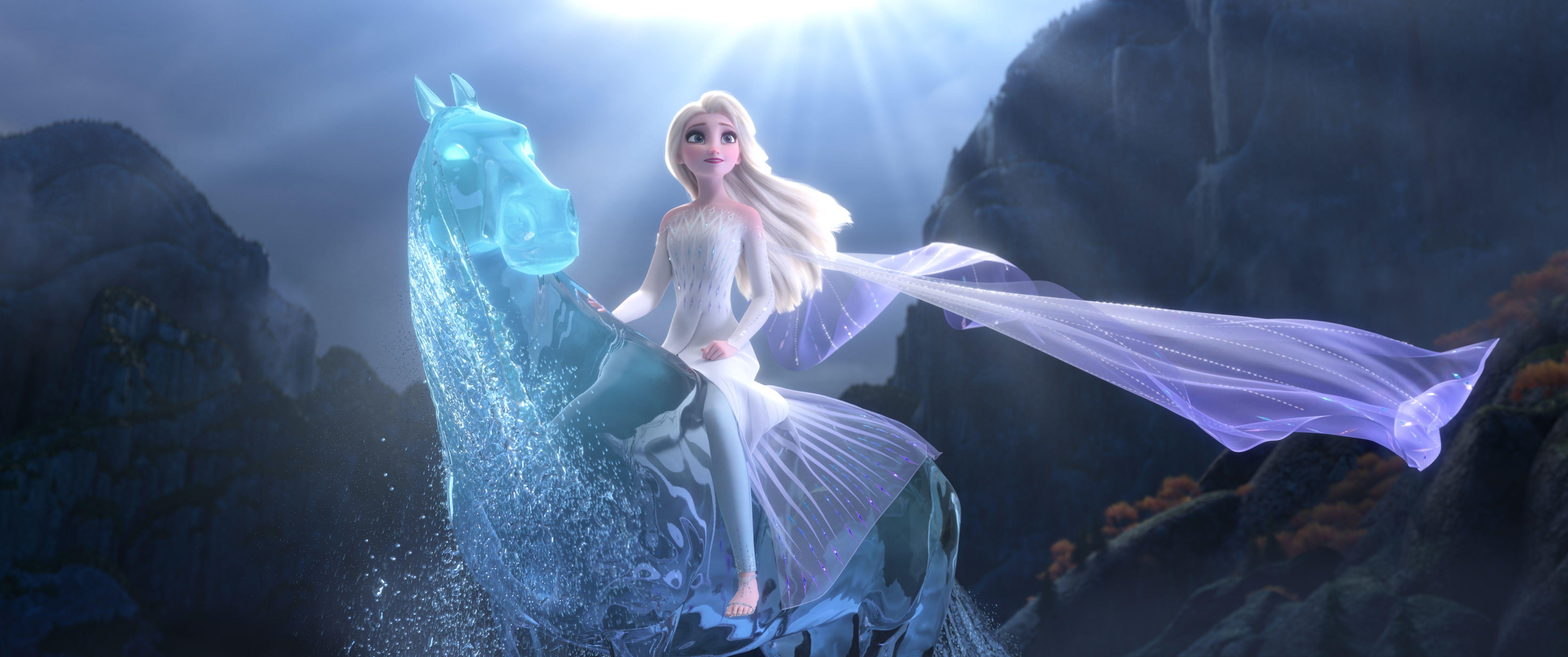 Frozen 2 How Production Design Transformed Elsa Into The Snow Queen Indiewire Disney Princess Elsa Disney Princess Tattoo Snow Queen