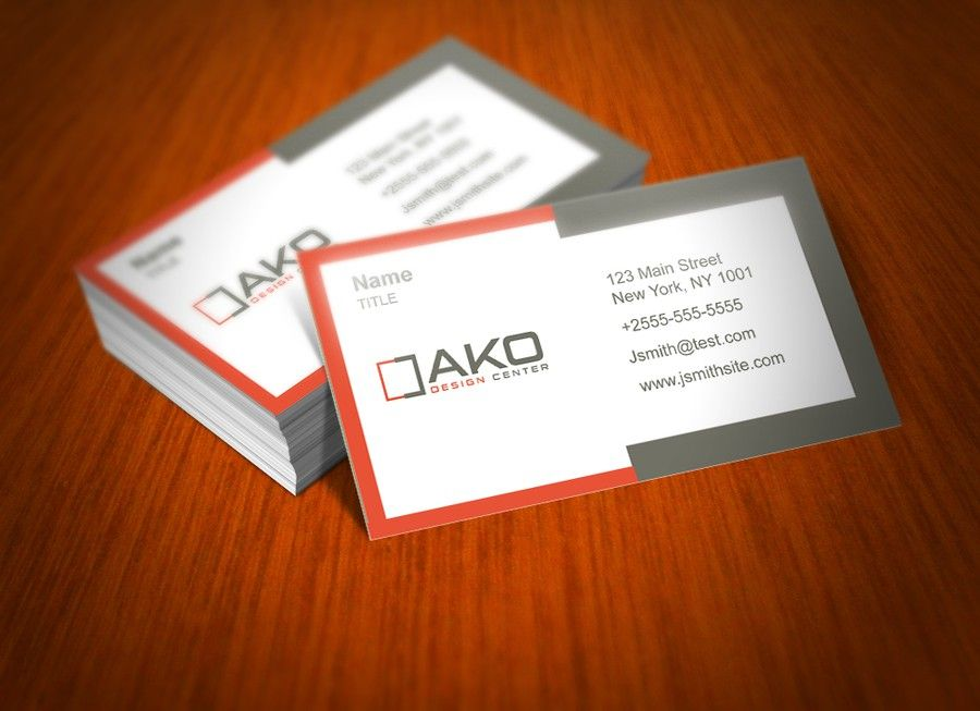 Create a logo and business card for a Luxury Retail Furniture Store ...