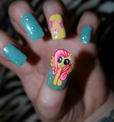 My Little Pony: Friendship is Magic - Fluttershy( I WOULD NEVER...but boy wouldnt my kids love it) lol